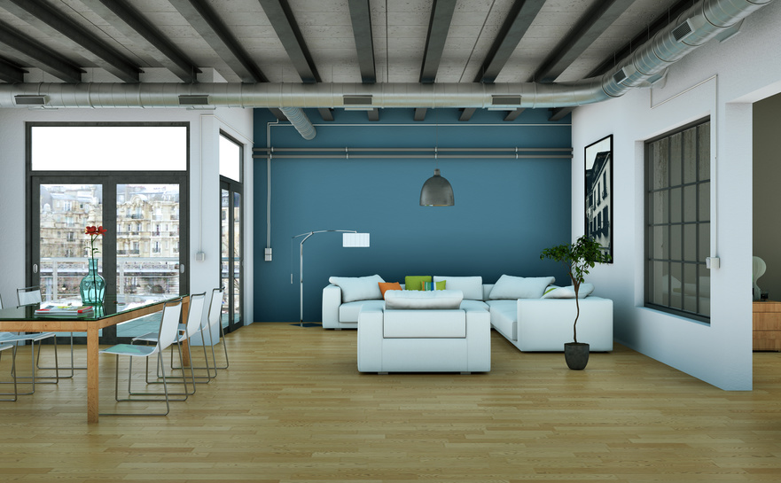 Verriere int rieure loft verriere for Mur verriere interieur
