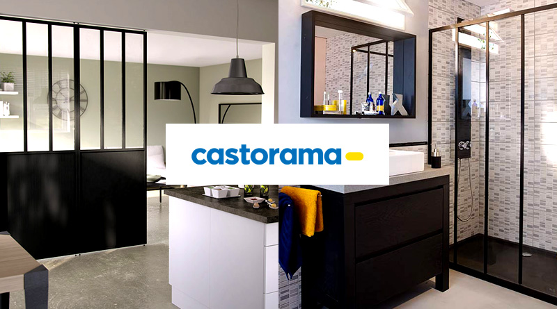 verriere interieure chez castorama verriere. Black Bedroom Furniture Sets. Home Design Ideas